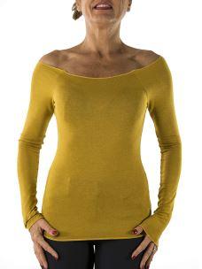 Maglia Barchetta Donna in Viscosa Stretch-Made in italy