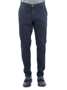 Pantalone Chino Uomo Stretch-Made in Italy
