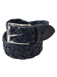 Cintura Intrecciata in 100% Pelle Made in Italy