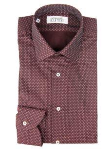 Camicia Sartoriale Classica Cotone Doppio Ritorto Spigato