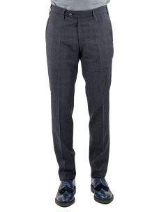 Pantalone Uomo Lana Principe di Galles-Made in Italy