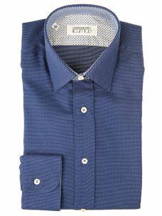 Camicia Sartoriale Classica Collo e Polsi a Contrasto