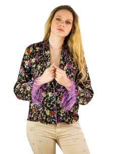 Camicia Fleur Donna Queguapa M/L