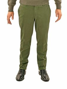 GERMANO Pantalone  Chino in Cotone Made in Italy