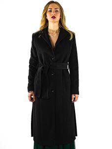 Cappotto Lungo Donna Lana No-Nà