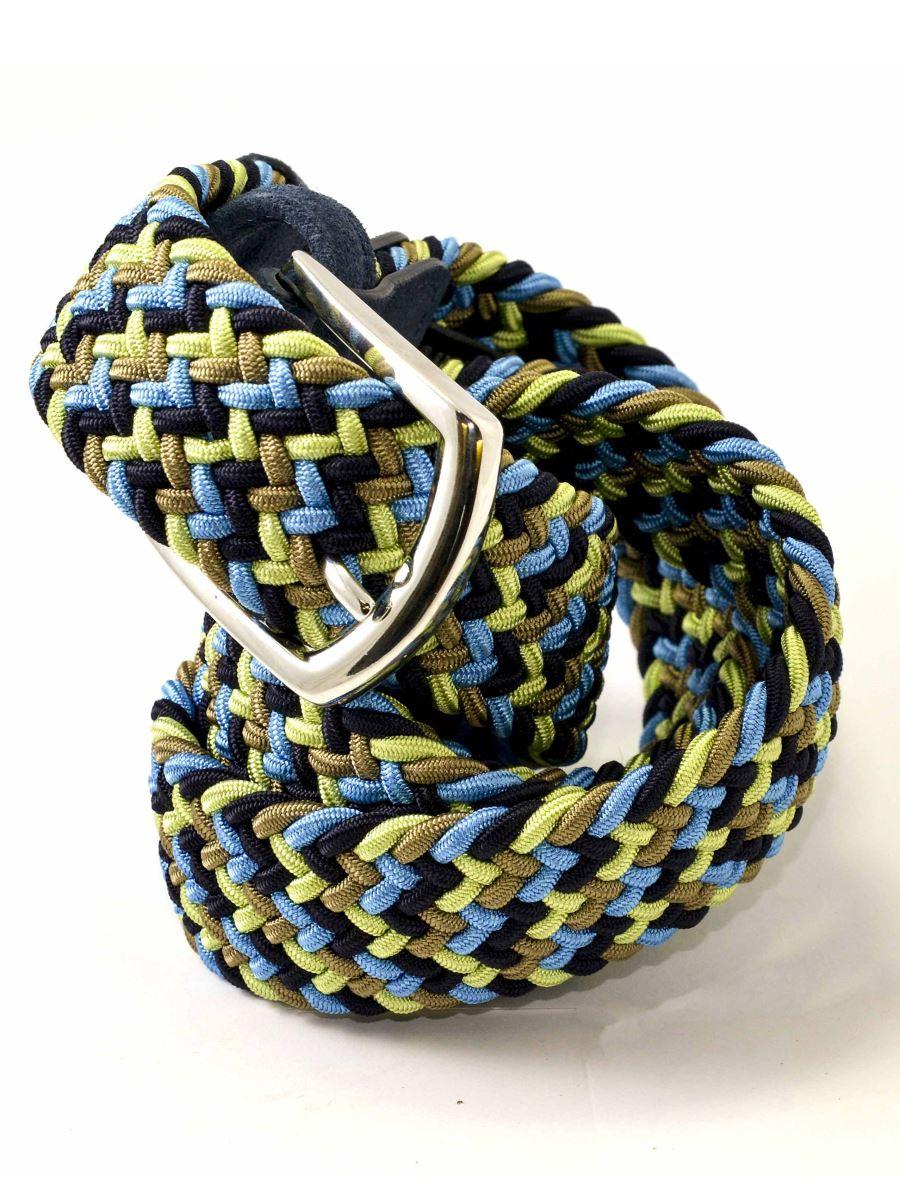 ANDERSON/' Cintura Elasticizzata Intrecciata  Made in Italy MainApps