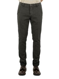 Pantalone Uomo Chino Microfantasia Stretch
