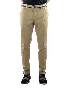 Pantalone Uomo CotoneElasticizzato con Cinturini Bordati