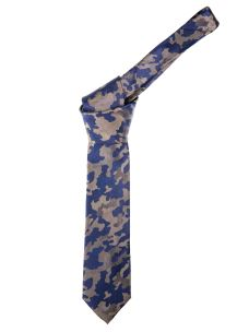 Cravatta Sartoriale in pura Seta - Camouflage-Made in Italy