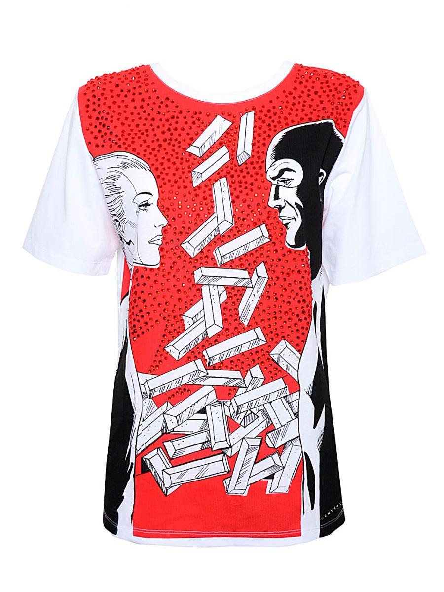 NENETTE T-Shirt Donna - EVA KANT - DIABOLIK  Art. Double