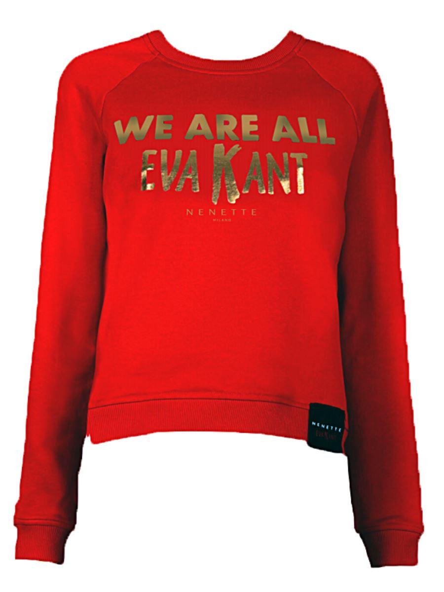 Felpa Donna M/L NENETTE We Are All EVA KANT