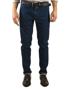 Jeans Uomo B-700 Tasca America Chino-Made in Italy
