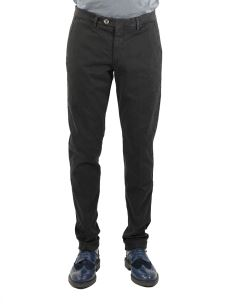 Pantalone Chino Uomo B-SETTECENTO Raso Stretch-Made in Italy