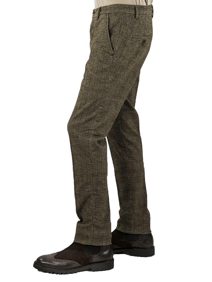 Principe Galles MainappsEbay Pantalone Chino Di Stretch Uomo v8nwOmN0