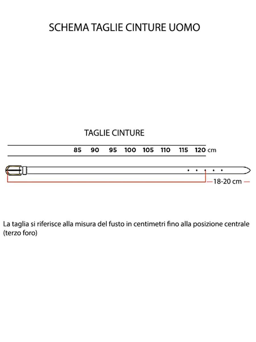 Cintura-Uomo-in-Vero-Cuoio-Italiano-Laserata-MainApps miniatura 5