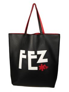 Borsa Shopper Donna FEZbyFEZ Reversibile Bicolore