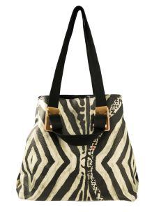 Shopper Maxi FEZ  NO-Leather - Safari con tracolla in dotazione