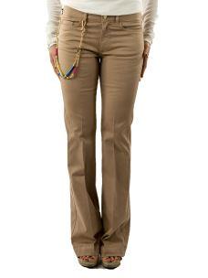 Pantalone a Zampa nenette-Donna-Elasticizzato-5 tasche