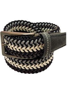 Cintura Elasticizzata Intrecciata Uomo-Made in Italy