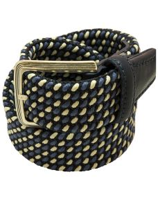Cintura Intrecciata Cotone/Gomma