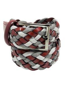 Cintura Intrecciata Rigenerato Cotone e Viscosa - Made in Italy