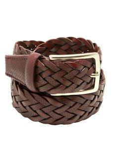 Cintura Uomo In Rigenerato di Pelle - Made in Italy