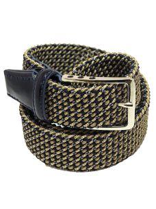 Cintura Uomo Intrecciata Elasticizzata Artigianale Made in Italy