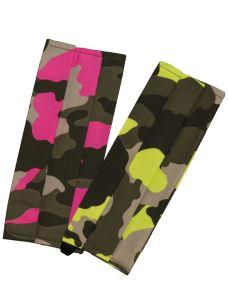 Mascherine Lavabili Mimetico Camouflage Fluo Cotone (2 PZ)