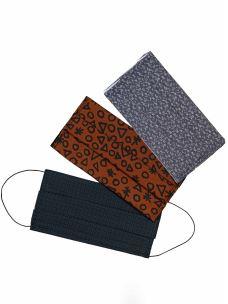 Mascherine Lavabili Cotone e Tasca Filtro (3 Pezzi)