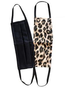 Mascherine Lavabili Donna Fashion Cotone e TNT (2 Pezzi)