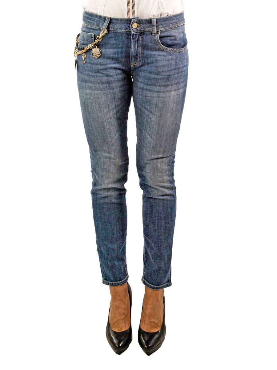 NENETTE Jeans Elasticizzato Lavaggio Blu medio SEATON