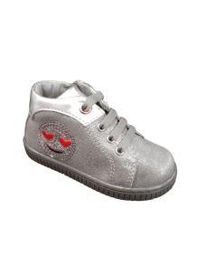 Balducci scarpa primi passi con lacci e smile laterale