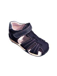 Balocchi sandalo a gabbia in pelle