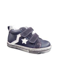 Balocchi sneakers con velcro e stellina laterale
