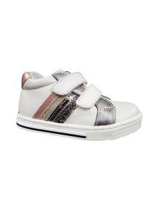 Balocchi sneakers bimba bianca con velcro