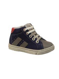 Balocchi sneaker alta con zip laterale