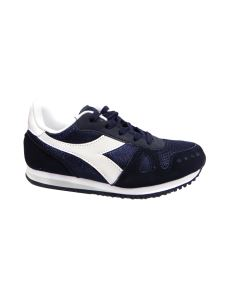 Diadora Simple Run blu con lacci