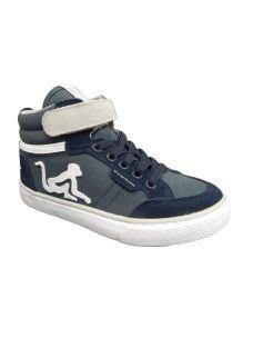 Drunkn Munky sneakers alta con lacci elastici e velcro