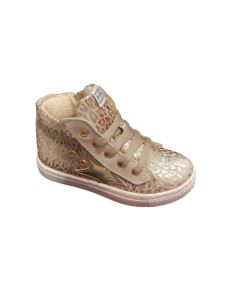 EB shoes sneakers alta in tela con zip laterale