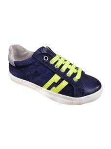Euro Bimbi scarpa bassa in camoscio blu