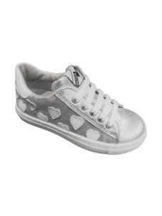 EB scarpa bassa in pelle con cuori