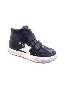 Euro Bimbi sneakers alta militare con velcro