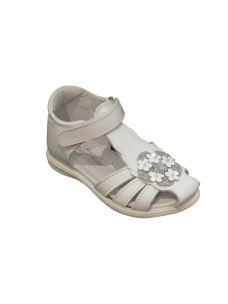 Pretti Shoes sandalo gabbietta con fiorellini