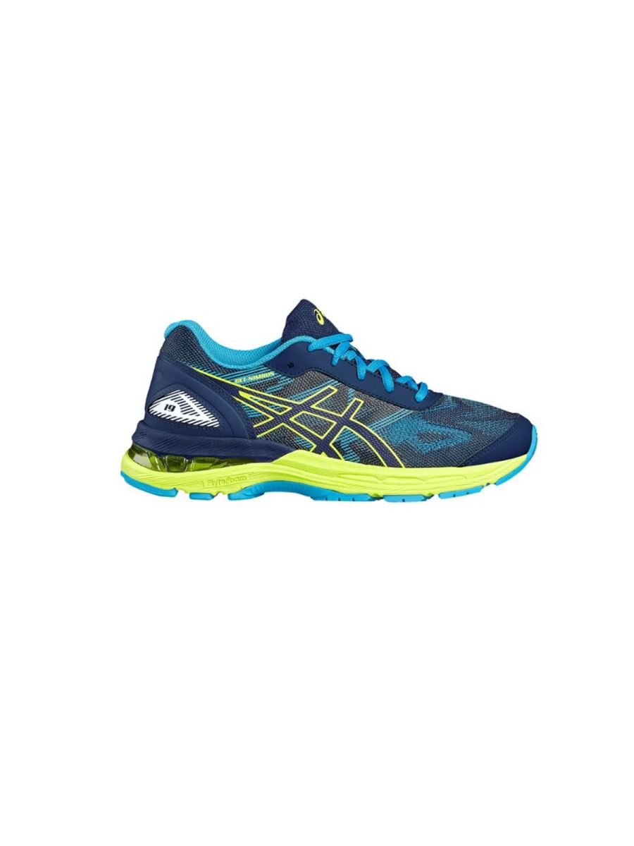 Asics Nimbus in tela leggera colorata