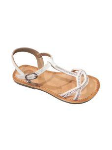 Gioseppo sandalo femmina con incroci con brillantini
