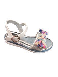 Jolì sandalo con fiocchi multicolor