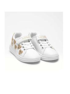 Lelli Kelly sneakers bassa con cuori in glitter