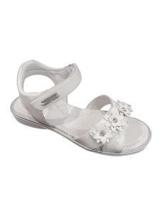 Lelli Kelly sandalo con doppio velcro regolabile e fiori