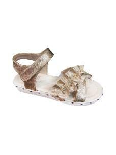 Lelli Kelly sandalo con gala sul velcro e borchie su suola