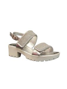 Lelli Kelly sandalo con zeppa leggarissima e brillantini.